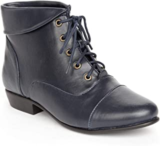 navy blue western boots