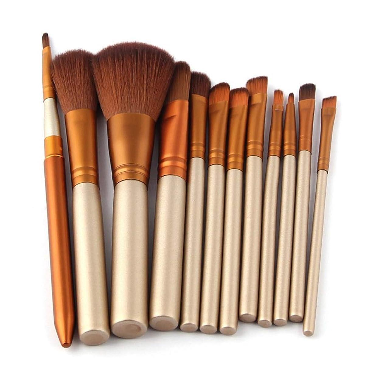 懲戒デイジーダッシュXULHKA 化粧ブラシ12個ブラシセット化粧道具顔メイクブラシシャドウパウダーブラシ