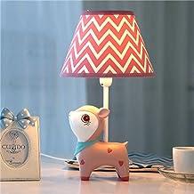 Desk Lamps Children's Room Cartoon Deer Table Lamp Bedroom Bedside Lamp Creative Fashion Cute Warm Boy Girl Decorative Tab...