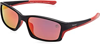 Timberland Wrap Around Shaped Sunglasses for Men - Smoke, TB9172-02D