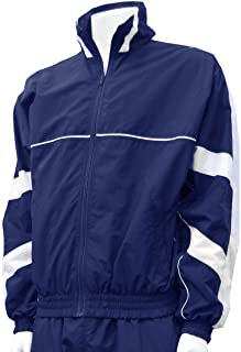 Code Four Athletics Normandy Water-Resistant Nylon Warmup Jacket