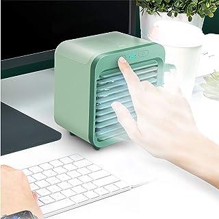 MZZG Aire Acondicionado Portátil,Mini Ventilador del Aire Acondicionado Portátil con Ajuste Inteligente De Tres Velocidades Y Rápida Función De Refrigeración, para Los Coches/Oficinas, Etc.