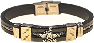 Mens Silver Farvahar Faravahar Bracelet Persian Gif Persia Gift