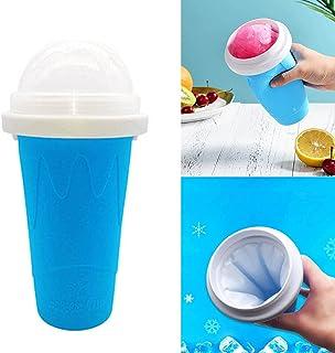 Guillala Slush Ice Maker, Sand Ice Cup, Slushying Making Mug, Easy to Make Ice Cream, Double Layer Freeze Frozen Mug for Q...