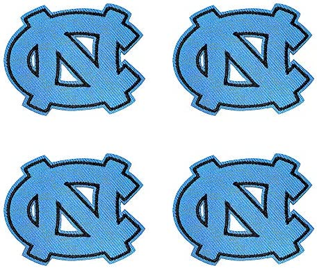 North Carolina Tar Heels Embroidered Patch Iron on Logo Vest Jacket Cap Hoodie Alumnus Backpack product image