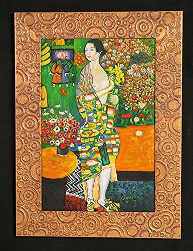 ARREDO SELLI Klimt Falsi D'AUTORE Cornice Oro