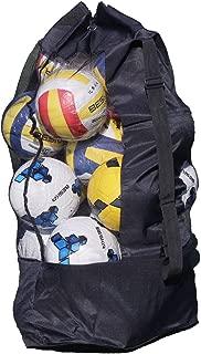 大きいサイズ バスケットボールバッグ 15-20個入れ サッカー ボールバッグ アウトドア 収納バッグ ボールケース 大容量 部活 学校 スポーツバッグ メッシュ 通気性 肩掛け 学生 ショルダーストラップ サッカーボールバッグ 子供 持ち運び便利 特大 ボール収納