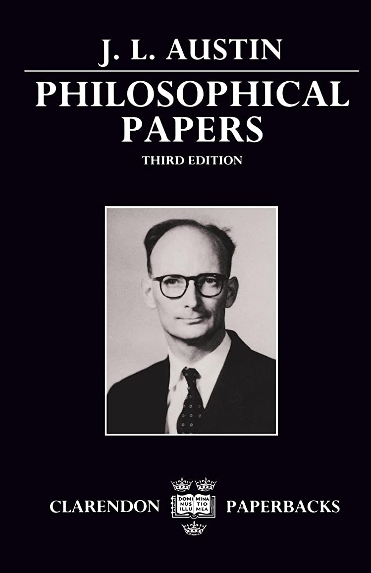 側面アブセイ災難Philosophical Papers (Clarendon Paperbacks)