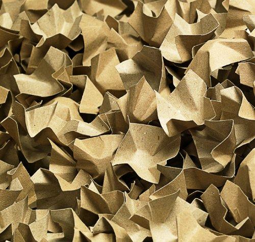 progressFILL Paperfill Füll- und Polsterchips, 170 g, circa 120 L im Karton mit Ausfüller