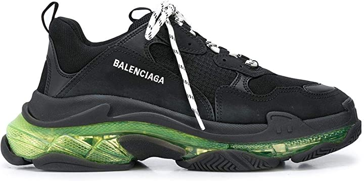 Scarpe balenciaga luxury fashion uomo 541624w09on1047 nero poliestere sneakers | B0855SHGV6