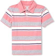 The Children's Place Big Boys' Short Sleeve Stripe Polos