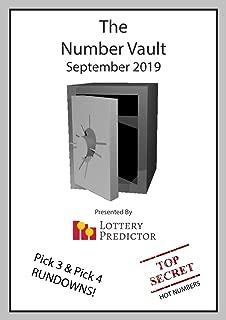 The Number Vault September 2019: A Lottery Tip Sheet