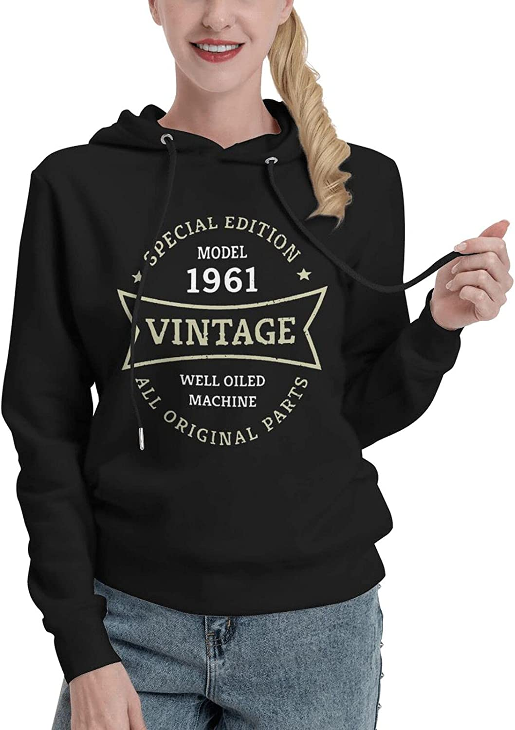 60 Year Old Birthday Gifts At the price Vintage Sweat Birth 1961 60th Women'S Max 49% OFF