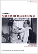 Napoleon Is to Blame for Everything Napoleon ist an allem schuld  NON-USA FORMAT, PAL, Reg.0 Germany