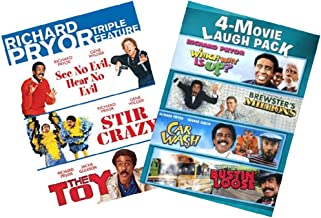 Ultimate Richard Pryor 7-Movie Comedy DVD Collection: See No Evil, Hear No Evil / Stir Crazy / The Toy / Which Way Is Up? / Brewster's Millions / Car Wash / Bustin' Loose