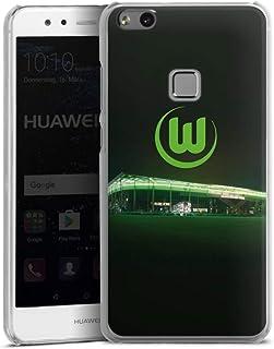 DeinDesign Hard Case kompatibel mit Huawei P10 lite Schutzhülle transparent Smartphone Backcover Offizielles Lizenzprodukt VFL Wolfsburg Stadion