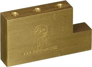Floyd Rose Fat Latón L Block Puente de Guitarra Eléctrica (FROFTBL37)