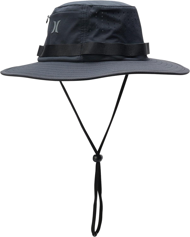 Hurley Men's Phantom Vagabond Elite Bucket Sun Hat : Clothing, Shoes & Jewelry