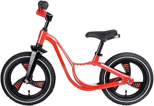 salida para la venta CQILONG-bicicleta de de de equilibrio Asa Plegable Límite De Giro De 90 Grados Bicicleta De Correr rojoondeado Y Liso Fácil Instalación Bicicleta De Equilibrio Deportivo (Color   rojo, Talla   85x61cm)  comprar nuevo barato