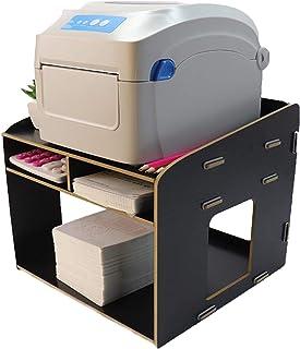 CanKun Support D'imprimante, Support D'imprimante À 2 Niveaux Étagère pour Imprimante en Bois De Haute Qualité Armoire sou...
