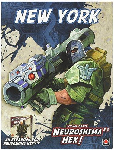 Wydawnictwo Portal POP00354 Brettspiel Neuroshima Hex: New York 3.0