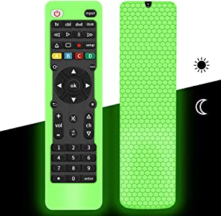 Remote Cover Case for GE Universal Remote, Soft Silicone Protective Remote Cover Holder Skin Grip Sleeve for GE 4-Device U...