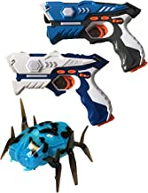 Wonderstar Toys - Laser Tag Blasters - 2 Blaster and 1 Mechanical Spider Set
