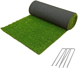 Liebe【リーベ】 人工芝 芝丈 20mm 1×10m U字ピン16本 『パークシア シンプル』