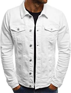 Men's and Women's Cozy Regular Fit Utility Pocket Overshirt Long Sleeve Slim Fit Button Up Denim Field Shirt Jacket