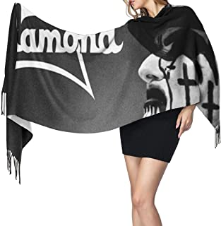 King Diamond Soft And Comfortable Polyester Shawl With Scarf, Warm Ladies Wrap, 77 X 27 Inches