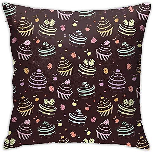 Cotton Linen Bolster Throw Pillow Case Sofa Housse De Coussin Cadeau Décoration