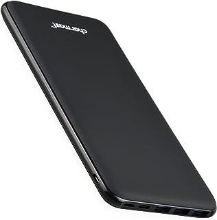 Charmast 26800mAh Strömbanker, 4 iSmart-utgång & 3 ingångar USB C powerbank bärbar laddare, batteribank Kompatibel med Sma...