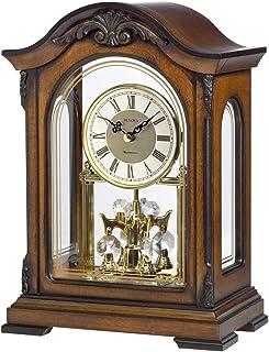 Bulova B1845 Durant Chiming Clock Walnut