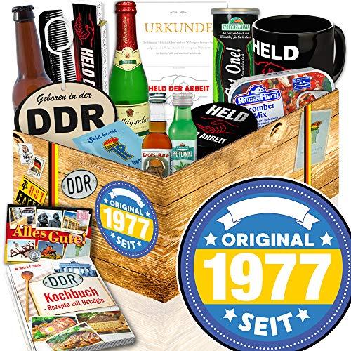 Original 1977 + Geburtstagsgeschenk Patentante + Männer Paket DDR