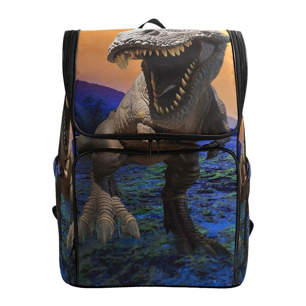 一般的に言えば条件付き機密VAMIX リュックサック バッグ 男女兼用 メンズ レディース 通勤 通学 大容量 ファッション おしゃれ 開学 多機能 プレゼント ギフト 恐竜 ドラゴン アニマル