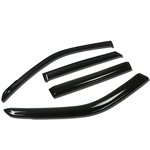 For Suzuki Grand Vitara 4pcs Tape-On Window Visor Deflector Rain Guard