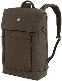 Victorinox Altmont Classic Deluxe Flapover Laptop Backpack (Black)
