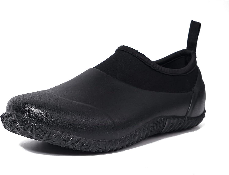 MOCOTONO Unisex Garden Shoes Rain Waterproof Mud Boots Minneapolis Mall OFFer Sl Rubber