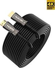 Ruzlog High-end Fiber Optic HDMI 2.0 Cable Wire up to 100meter 4Kx2K Support 4K@60Hz 4:4:4/4:2:2/4:2:0 HDR10 Dolby Vision, HDCP2.2 ARC 3D High Speed 18Gbps (10m)