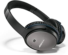 Bose QuietComfort 25 Acoustic Noise Cancelling Headphones for Apple devices - Black, Wired