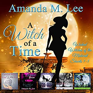 A Witch of a Time audiobook cover art