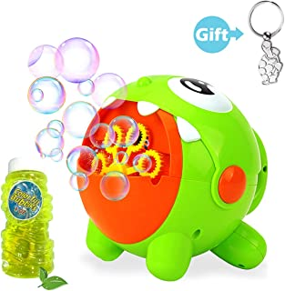 scurry Bubble Machine for Kids&Toddlers - 3000 Bubbles per Minute, Automatic Bubble Maker Blower for Birthday Party & Indoor & Outdoors & Party & Wedding & Backyard, Powered by USB Charging