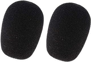 F Fityle 2 stks Headset Microfoon Spons Cover Windscherm Wind Muff Mic Accessoire
