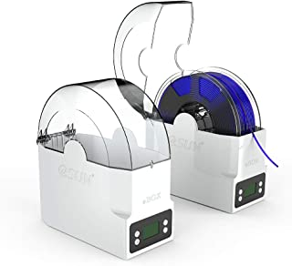 eSUN eBOX Impresión 3D Filamento Caja Soporte para Almacenar, Mantener Filamento Secos y Medición Filamento Peso para PLA, ABS, PETG, PVA, Nylon Filamento de Impresora 3D (Fuente de Alimentación UK)