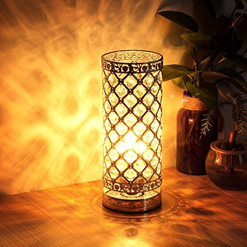 Seaside Village Crystal Touch Control Dimmable Lamp