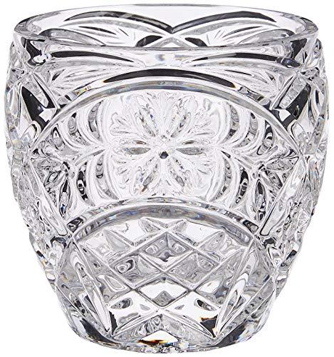 Crystaljulia - Candelabro in Cristallo al Piombo, 7,5 cm, Trasparente