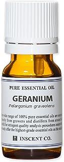 ゼラニウム 10ml インセント エッセンシャルオイル 精油 アロマオイル