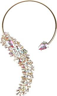 Holylove 5 Color Women Statement Necklace, Body Jewelry Neckalce Women Novelty Costume Fashion Jewelry 1 pc Gift Box