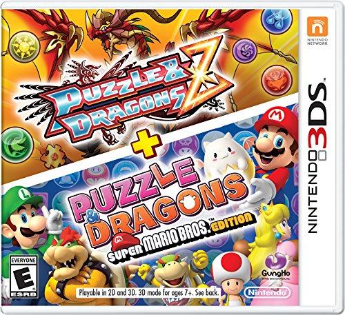 PUZZLE & DRAGONS Z + PUZZLE & DRAGONS: SUPER MARIO BROS. EDITION - 3DS