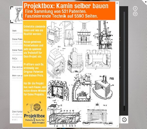 Kamin selber bauen: Deine Projektbox inkl. 531 Original-Patenten bringt Dich mit Spaß ans Ziel!